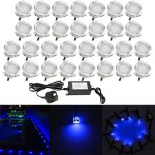 30mm Led Decking Lights 30mm Led Decking Lights Kits 0 6w 9lm Outdoor Decoration