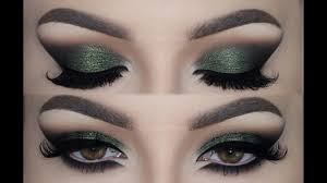 olive green cat smokey eyes make up tutorial melissa samways