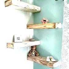 rustic white floating shelves wood bathroom shelf l fl