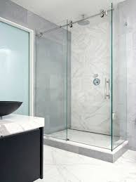 charming frameless sliding shower doors and rolling glass shower door houzz