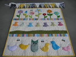 Baby Girl Cot Quilt & Bunting | A Little Craft & Image Adamdwight.com