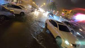 أمطار الرياض الصيفية
