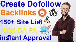 how to create backlinks [ dofollow ] 150+dofollow backlink List 2021