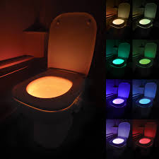 Toilet Bowl Light Uk Led Motion Activated Toilet Bowl Night Light Potty Training Parties Night Loo