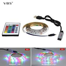 Used Lighting Store Us 1 7 24 Off Powerful Dc 5v Led Strip With Usb Port Smd 2835 Waterproof Ip65 Used For Decoration Or Lighting Day And Night Tira Fita Led A1 In Led