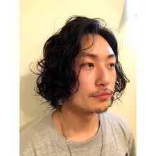 メンズ 外国人風パーマ ロング Capelli Malenaカペリマレーナのヘア