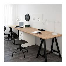 white gray solid wood office. GERTON ALEX Table Beech Black White Beechblack 118 1 Gray Solid Wood Office S