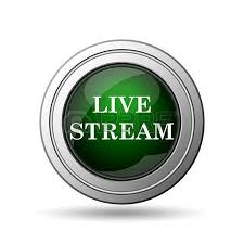 Image result for live stream button green
