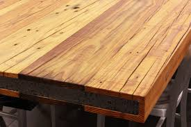 using reclaimed wood is a responsible and beautiful choice for your wood countertops