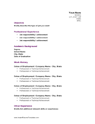 Academic Resume Template New Professional Academic Resume Template