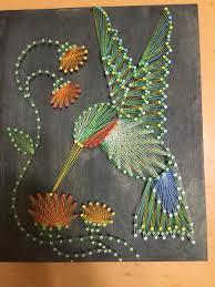 How To Do String Art Owl String Art Custom Made To Order String Art And Owl