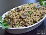 barley with mushrooms  scotland
