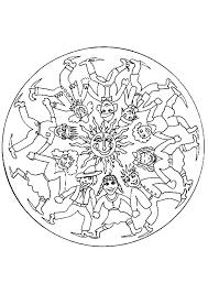 Kleurplaat Mandala Kleurplaten 5286 Kleurplaten