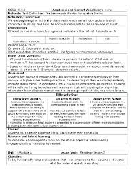 Lesson Plan Template Common Core Math Unit Strand Synonym Templates ...