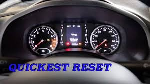2016 Jeep Renegade Reset Oil Light Jeep Renegade Oil Light Reset How To