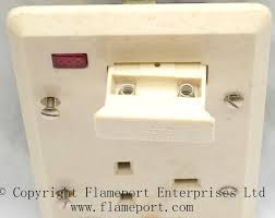 aei combined fused switch and single socket outlet Fuse Box Fcu aei fcu socket outlet Breaker Box