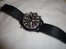 iwc top gun men s watch chronograph used watch for in watches iwc top gun men s watch chronograph face