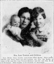 Ethel Burke, Gary Burke and Shirley Lee Trulock. Decatur Daily. 27 Jun  1938. - Newspapers.com