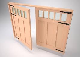 Carriage Doors & Barn Doors - Wooden Window