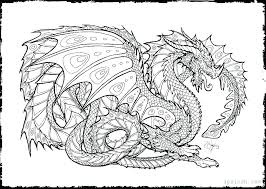 Dragon Coloring Pages For Kids Kryptoskoleninfo