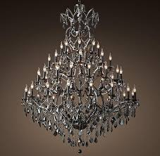 black iron crystal round chandelier regarding incredible household black and crystal chandelier prepare
