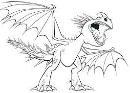 How To Train Your Dragon Toothless For Kids Coloring Pages Home