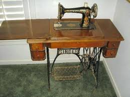 Singer Sewing Machine In Table Value