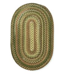 rugs beans braided wool rug oval indoor at ll bean waterhog