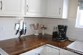 genial diy wooden kitchen countertops wood waterproof