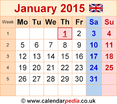 january 2015 calendar.  Calendar Calendar January 2015 Template 6 Graphicimage File In PNG Format On A