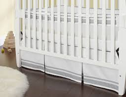 amazoncom  just born crib skirt grey  baby