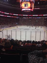 flyers arena seating chart wells fargo center section 108 row 15 seat 12 philadelphia