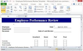 Employee Performance Review Template Fppt