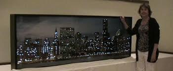 new york fiber optic city skyline on new york city skyline wall art with new york fiber optic city skyline fiber optics pinterest fiber