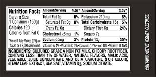 how to read nutrition labels exle 2