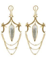 stephen webster women s metallic large chandelier earrings