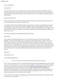 Letter Of Recommendation For Internship How To Write A Letter Of Recommendation For Yourself Or