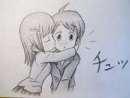 cute anime love chibi drawing. Drawing Board Manga Sketches Love Drawings Stuff Kissing And Cute Anime Chibi