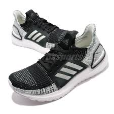 Details About Adidas Ultraboost 19 W Black Linen Green White Women Running Shoe Sneaker G27484
