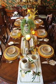 Yellow Tuscany Tablescape