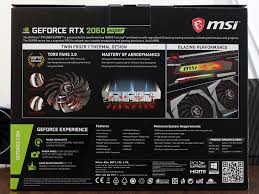 Nvidia Video Card Comparison Chart Msi Geforce Rtx 2060 Super Gaming X Review Faster Than Gtx