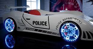 cool kids car beds. Police 3ft Super Car Bed - LED LIGHTS + SOUND White Childrens Kids Boys Beds: Amazon.co.uk: Kitchen \u0026 Home Cool Beds X