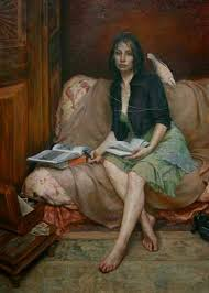 realist painter kamille corry was born in 1966 in houston texas