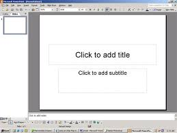 Powerpoint Thought Thought
