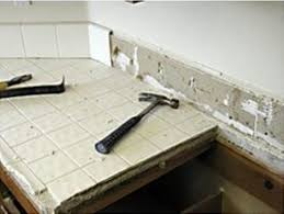 tile removal tired of tile countertops