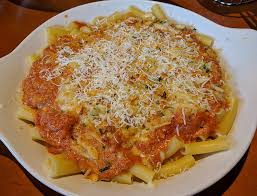 the five cheese ziti al forno is an italian specialty at olive garden which consists of baked blend of italian cheeses pasta and their signature five