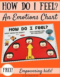 Emotion Chart For Kids How Do I Feel Emotions Chart Lizs Early Learning Spot