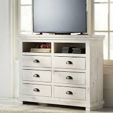 Media Chest Bedroom Elegant Bedroom Media Chest 4 Storage Drawer 1 Storage Cubby Solid