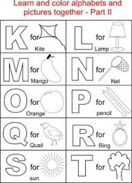 Small Picture Capital letters coloring printable page for kids Alphabets