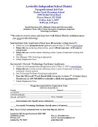 Paraprofessional Job Description For Resume Paraprofessional Cover Letter Paraprofessional Job Description For 2